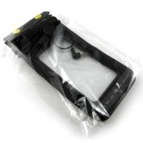 Caseink - Housse étanche + prise écouteurs iPhone 3G / iPhone 4 / 4S / 5 Noir