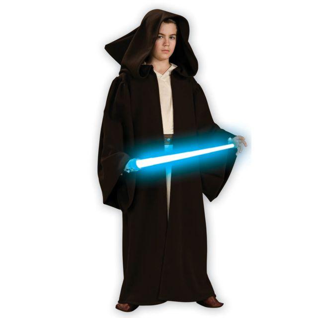 Rubies Déguisement Deluxe De Jedi Star Wars - Clone Wars, Enfant10/12 ans 138 à 150 cm