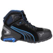 premium selection 76423 5dae6 Puma - Safety Rio Mid - Chaussures montantes de sécurité - Homme 44 Eur,  Noir