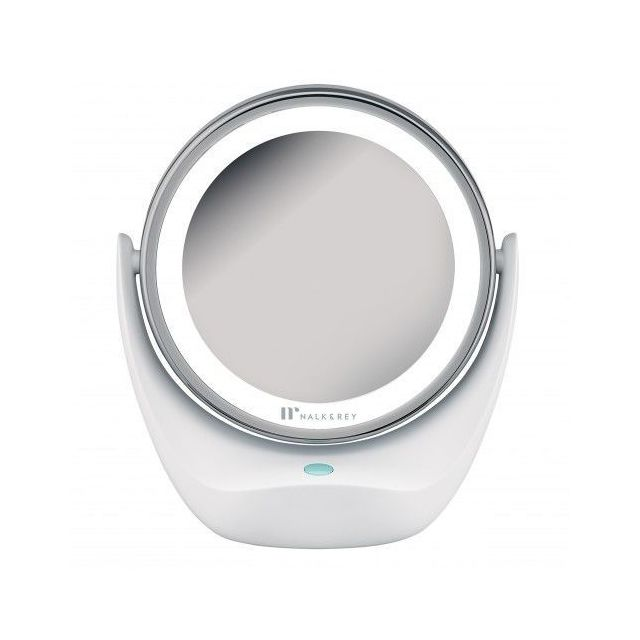 Nalk And Rey Miroir Lumineux Grossissant X 5 Blanc Pas Cher