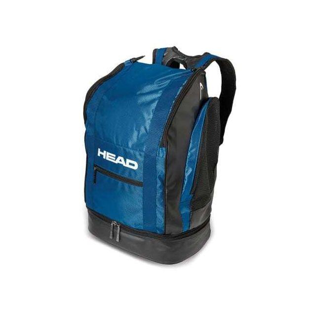 f9108d66b1a104 Head - Sac à dos Tour Back Pack 40 bleu foncé - pas cher Achat   Vente Sacs  de piscine - RueDuCommerce