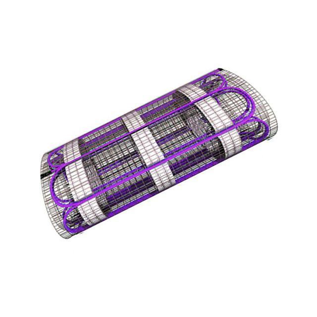ematronic plancher chauffant lectrique rayonnant 500w pas cher achat vente plancher. Black Bedroom Furniture Sets. Home Design Ideas
