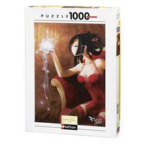 Nathan Jeux - Puzzle 1000 pièces le lotus