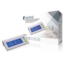 König - Mesureur de pression arterielle Bras Bluetooth 4.0 Blanc