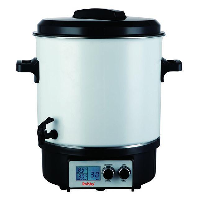 ROBBY stérilisateur électrique avec robinet et minuteur 27l 1800w écran lcd - steri pro lcd