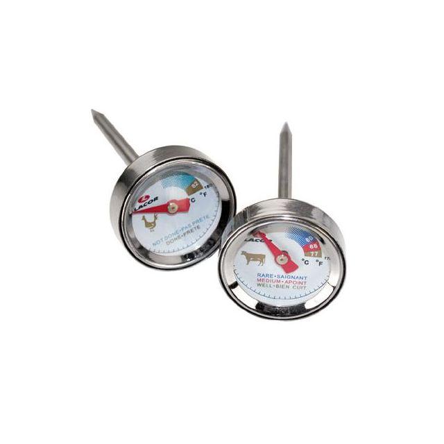 Lacor Carte De 4 Mini Thermomètres De Cuisine