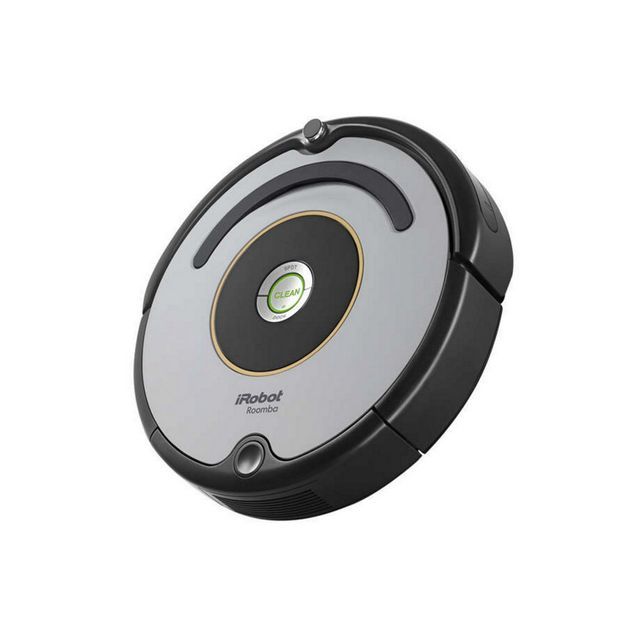 irobot aspirateur robot roomba 615 achat aspirateur sans sac silencieux. Black Bedroom Furniture Sets. Home Design Ideas