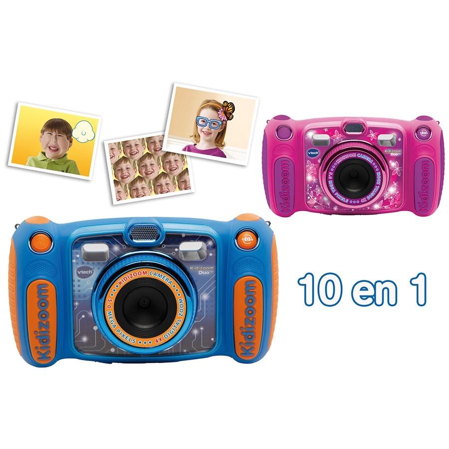 vtech kidizoom duo 5 0 rose 507155 pas cher achat vente appareil photo enfant. Black Bedroom Furniture Sets. Home Design Ideas