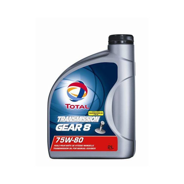 total huile de boite transmission gear 8 75w80 achat vente huile de boite de vitesse pas. Black Bedroom Furniture Sets. Home Design Ideas
