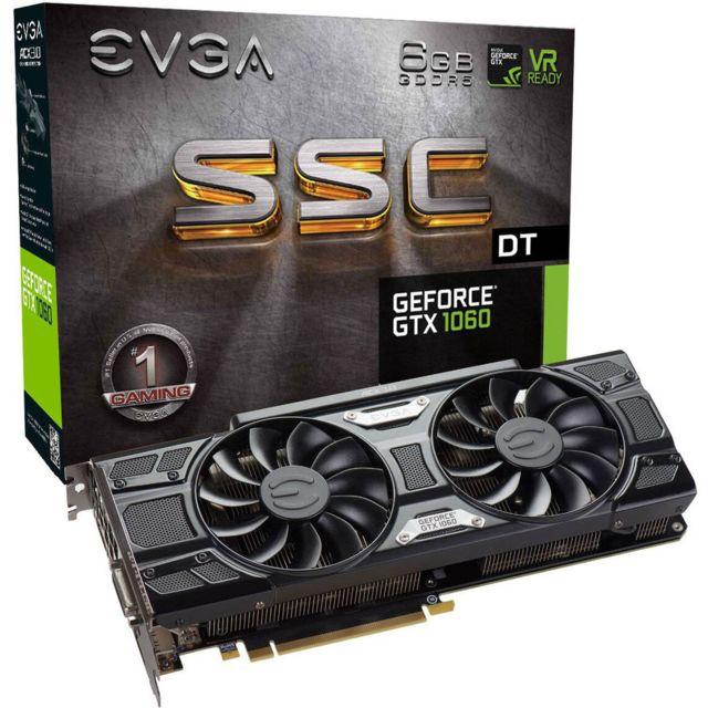 EVGA GeForce GTX 1060 SSC DT GAMING ACX 3.0 & LED