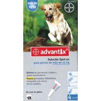 Bayer - Pack 3 X Advantix 4 Pipettes Chiens Plus De 25 Kg