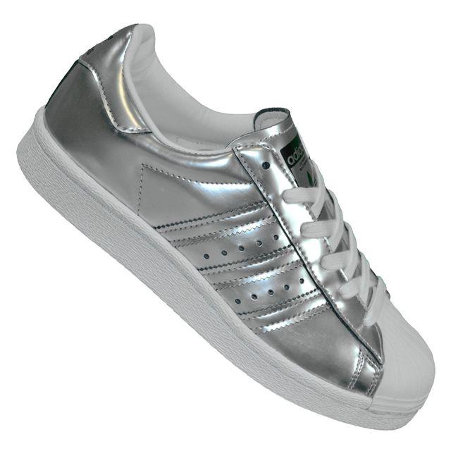 650f5e1c4306b Adidas originals - Baskets - Superstar Boost Bb2271 - Argent Gris - pas  cher Achat   Vente Baskets femme - RueDuCommerce