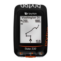 Bryton - Rider 330 E - Gps - orange/noir