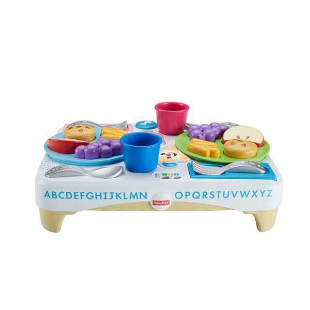 Fisher Price Table Petit Dejeuner Puppy Fbn18 Pas Cher Achat