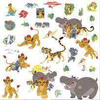 Room Mates - 30 Stickers Kion La Garde du Roi Lion Disney