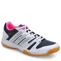 Adidas - Performance-Chaussure Volley Ligra W Femme Blanc-Noir M29951