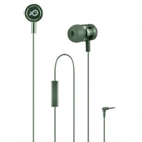 POSS Ecouteurs intra-auriculaire avec micro - PSINTM02GN-18 - Vert