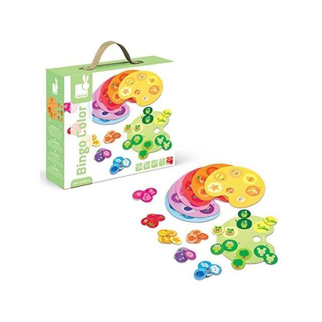 Janod Bingo Color Jeu De Loto 2 En 1 3 7 Ans Pas Cher Achat Vente Jeux Educatifs Rueducommerce