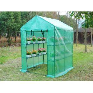 marque generique mini serre souple de jardin avec structure en acier maripea 2m l143 x l143. Black Bedroom Furniture Sets. Home Design Ideas
