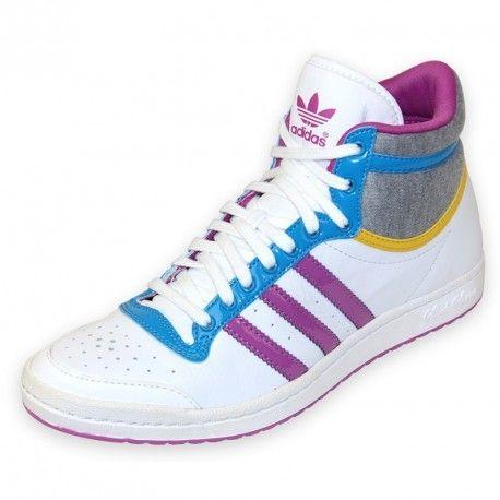 Adidas originals - Top Ten High Sleek W - Chaussures Femme Adidas ... c05da6cef545