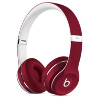 BEATS - Casque filaire Rouge - Solo 2 Edition Luxe