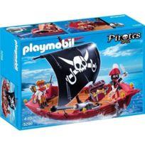 PLAYMOBIL - PIRATES - Chaloupe des corsaires - 5298