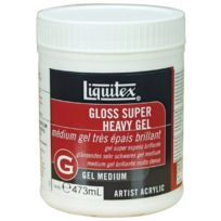 Liquitex - Professional Pot D'ADDITIF Gel Brillant Super ÉPAIS Taille M 473 Ml