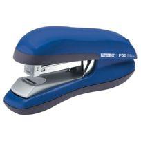 Rapid Agrafage - Agrafeuse Rapid Flat Clincj F30 - agrafes 26/6 et 24/6 capacité 30 feuilles bleu