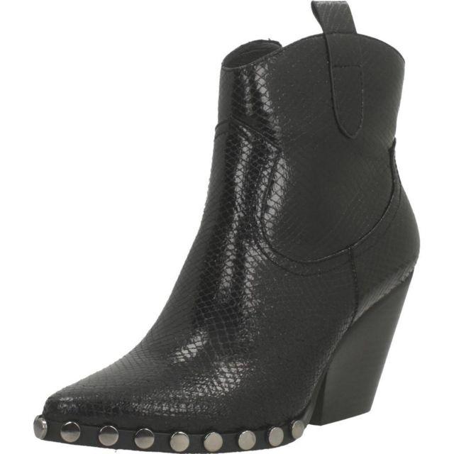 Noa Harmon Boots, bottines et bottes femme 8123N , Noir