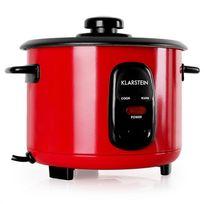 KLARSTEIN - Osaka 1 Cuiseur à riz 1 litre fonction réchaud - rouge