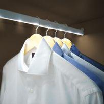 Jocca - Tringle lumineuse pour armoire - Taille 80 cm