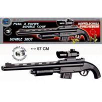 Elite Model - Fusil à Pompe Double Coup + Billes