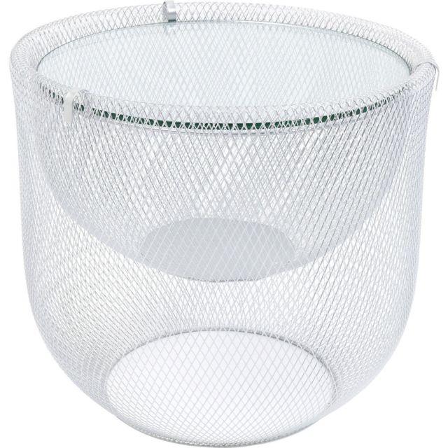 Karedesign Table basse Grid 50cm argentée Kare Design