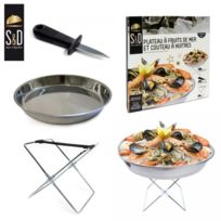 Saveur & Dégustation - Plateau à fruits de mer et couteau à huîtres Saveur & Degustation