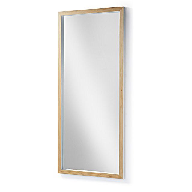 Kavehome Miroir Enzo, blanc 78x178 cm