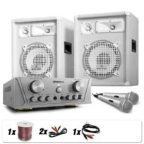 ELECTRONIC STAR - Set Dj Pa White Star Series Groenland Deluxe 800W