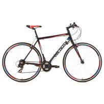 Ks Cycling - Vélo route 28'' Velocity noir Tc 53 cm