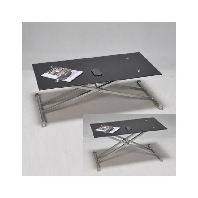 No Name Table Multiposition Updown / Noir