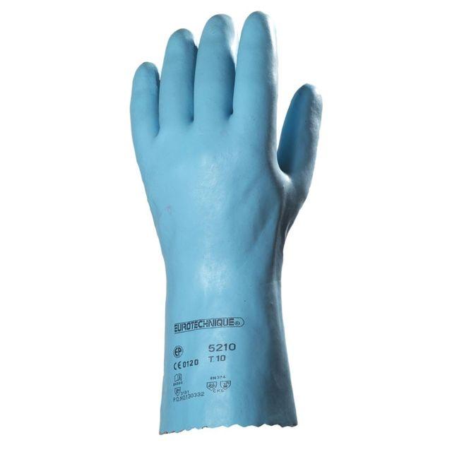 Eurotechnique Gants résistance chimique 5210 lot de 10