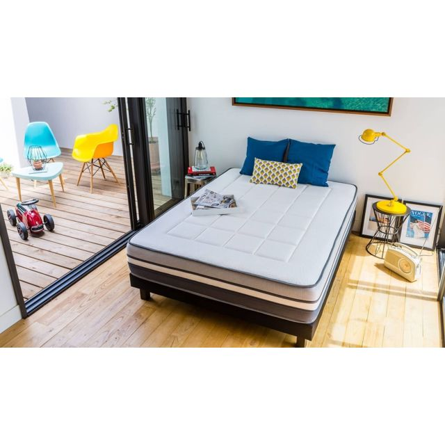 matelas visco achat vente de matelas pas cher. Black Bedroom Furniture Sets. Home Design Ideas