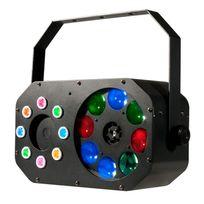 Adj - Stinger Gobo Effets 3-en-1 gobo, stroboscope, laser