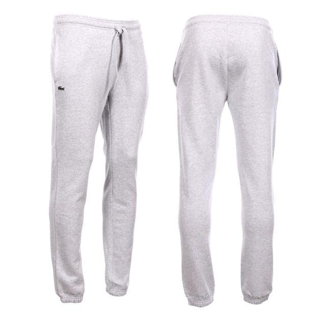 e265aea452 Lacoste - Homme - Bas de Jogging gris Xh7611 - pas cher Achat / Vente  Survêtement homme - RueDuCommerce