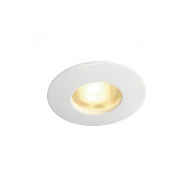 Slv Spot encastrable extérieur Out 65 Ip65 12V D8 cm - Blanc