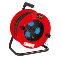 CEBA - Enrouleur de câble 40 m 3 x 2.5 HO7RNF + disjoncteur - TRB40257DT
