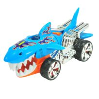 Hot Wheels - Véhicule Extreme Action : Requin