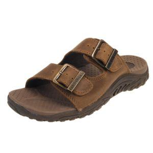 Skechers - Tongs claquettes Eggae jammin brun confort Marron 45735