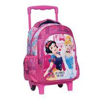 Princesses Disney - Sac à roulettes trolley maternelle Princesse Disney Cendrillon 31 Cm - Cartable