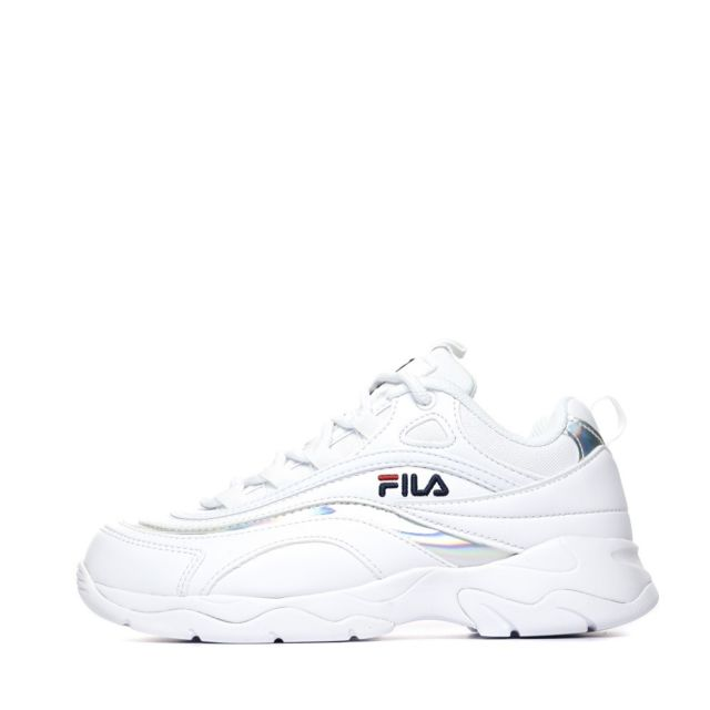 Ray Baskets blancargent femme Blanc 38.5
