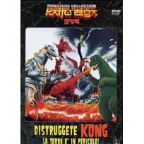 Cg Entertainment Srl - Distruggete Kong - La Terra E' In Pericolo! MONSTERS Collection, MONSTERS Collection IMPORT Italien, IMPORT Dvd - Edition simple