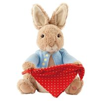 ToyCentre - Beatrix Potter Plush Peter Rabbit Peek A Boo Plush Toy
